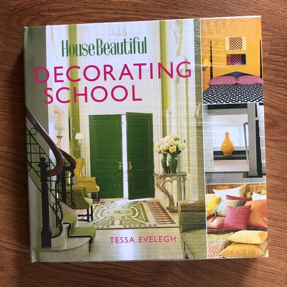 House Beautiful Decorating School Hard Back Book NWT